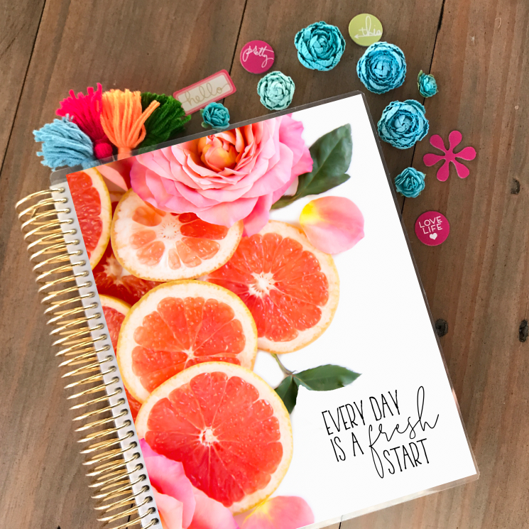 Fresh Start Planner Cover - Stylish Planner