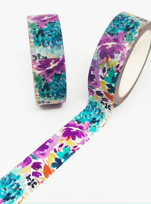 READY TO SHIP: Summer Fields Washi Tape Roll (Hand-painted by Britt) - Stylish & Co by Britt Mills