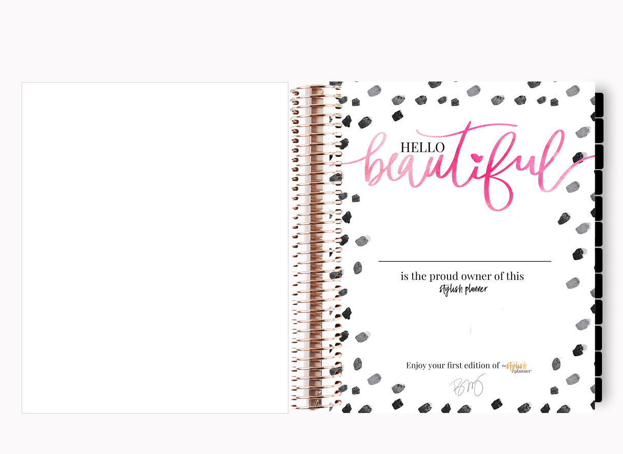 The Stylish Way™ Planner: Nurse Life (12-months undated)