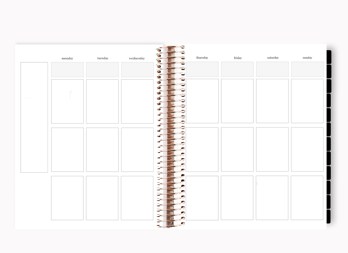 The Stylish Way™ Planner: Boss Life (12-months undated)