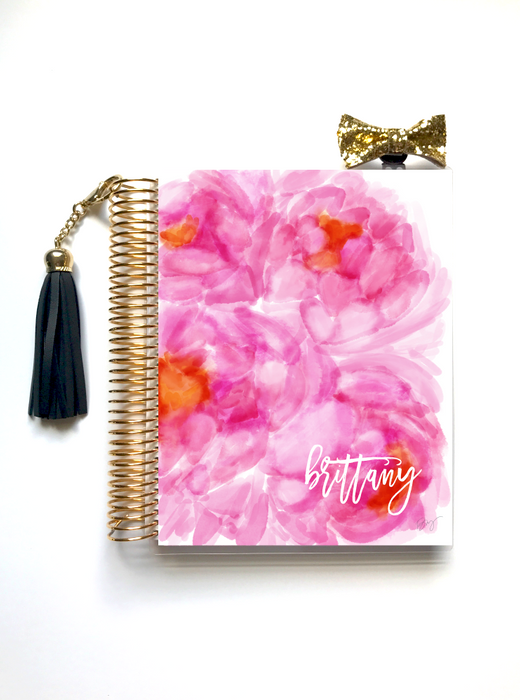 Stylish Planners Home Decor and Stylish Gifts - Pink Love Planner Cover