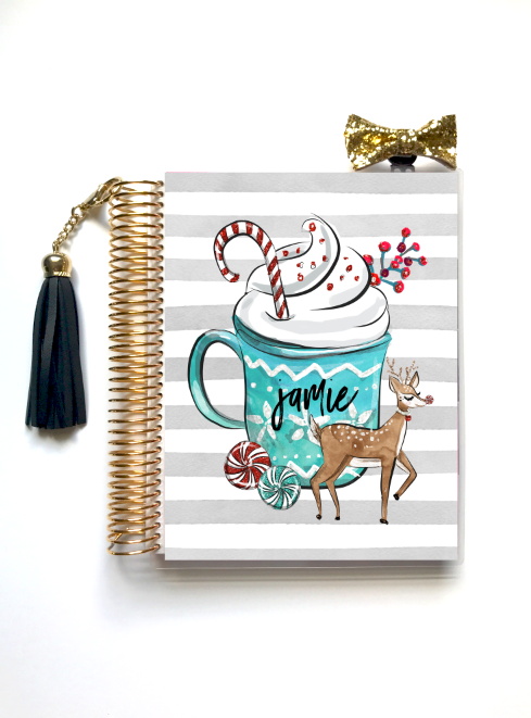 Peppermint Joy - Planner Cover
