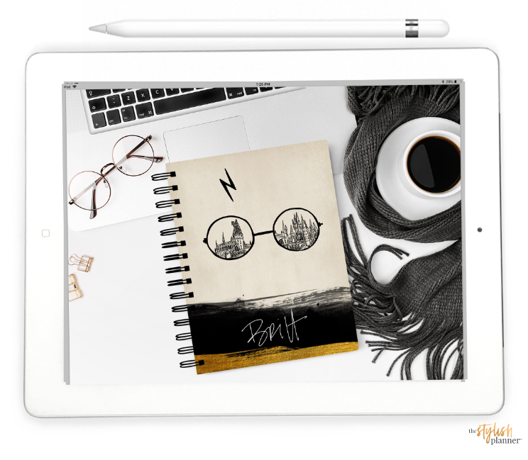 Styled Wizard Life Horizontal Digital Planner - Undated 12 months