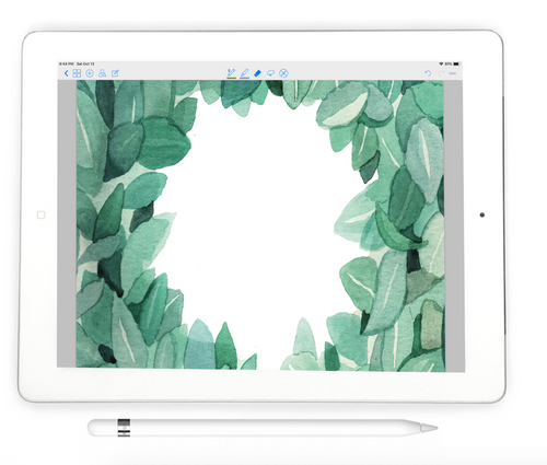 Eucalyptus Digital Notebook - Digital Planner Collection - Stylish Planner