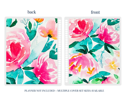 Stylish Planners Home Decor and Stylish Gifts - Pink Peony Planner Cover