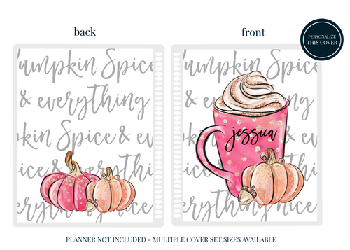 Pumpkin Spice - Planner Cover