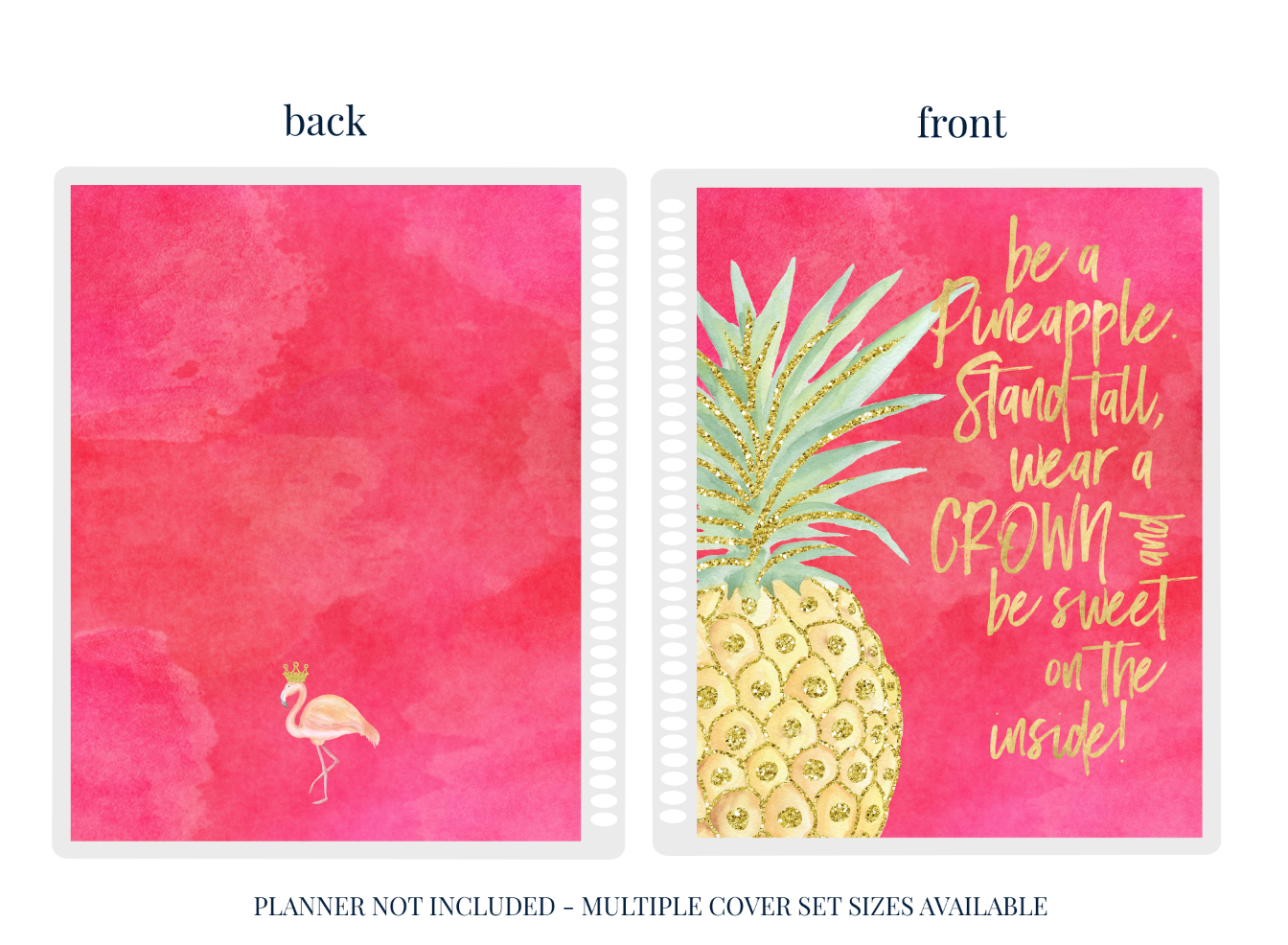Pineapple - Planner Cover