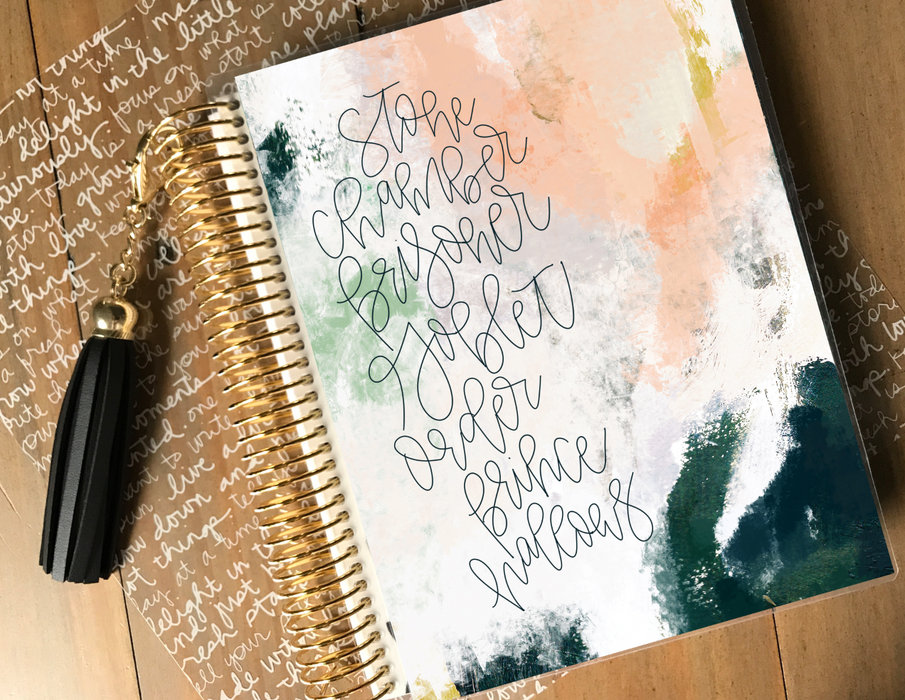 Stylish Planners Home Decor and Stylish Gifts - The Story Planner Cover