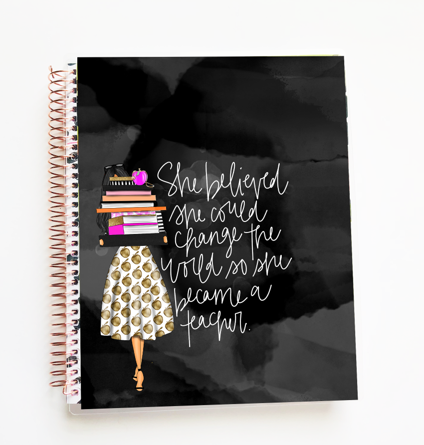 Stylish Planners Home Decor and Stylish Gifts - The Stylish Way™ Planner: Teacher Life Planner (12-months undated)
