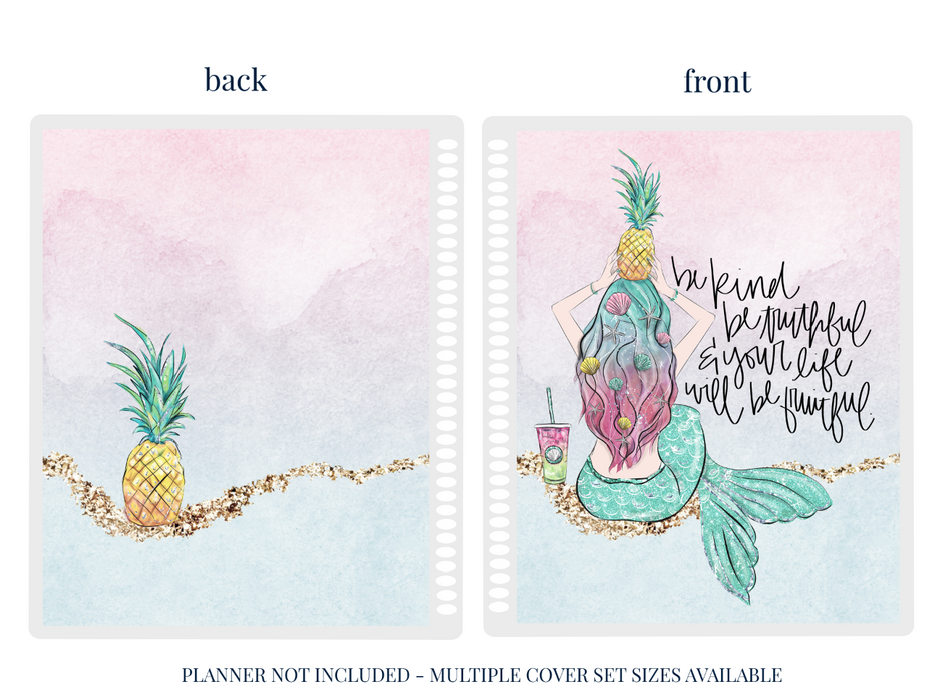 Stylish Planners Home Decor and Stylish Gifts - Pineapple Princess Planner Cover