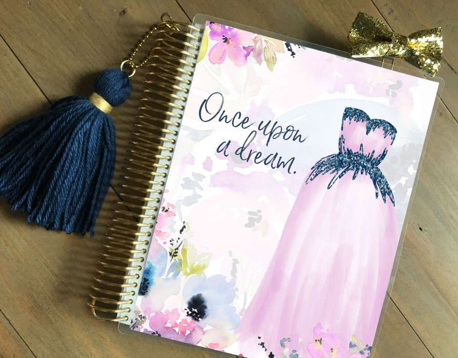 Stylish Planners Home Decor and Stylish Gifts - Love's Kiss - Princess Collection Planner Cover