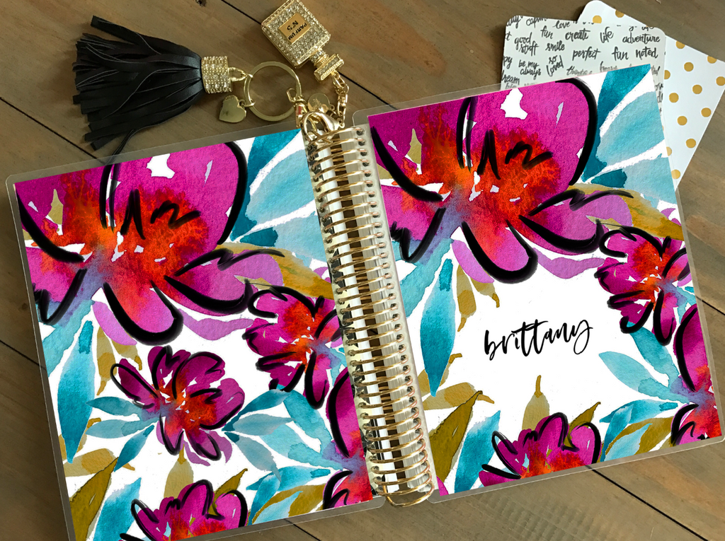 Stylish Planners Home Decor and Stylish Gifts - Polly Planner Cover (Hand-Drawn by Britt)