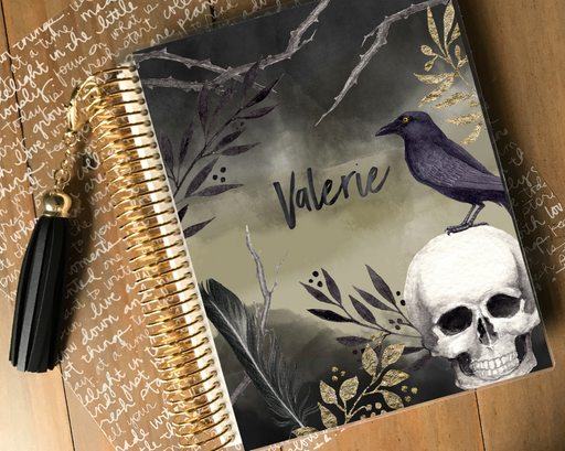 Stylish Planners Home Decor and Stylish Gifts - Raven Planner Cover