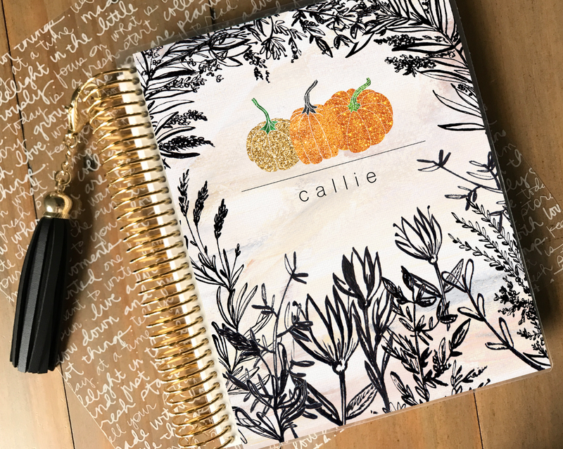 Pumpkin Patch Planner Cover