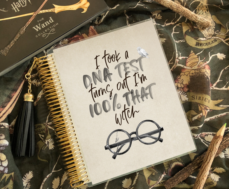 Stylish Planners Home Decor and Stylish Gifts - 100% That Witch Planner Cover