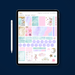 Stylish Planners Home Decor and Stylish Gifts - Sweet Dreams Digital Planner Stickers