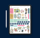 Stylish Planners Home Decor and Stylish Gifts - Adventure Digital Planner Stickers