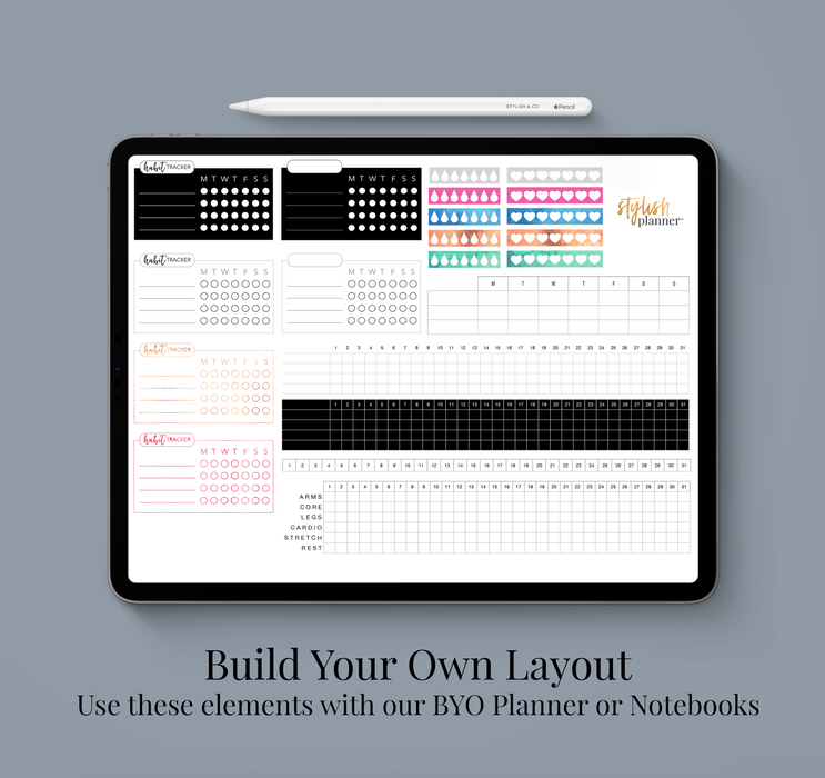 BYO: Tracker Elements Design Elements - Stylish & Co by Britt Mills