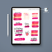 Stylish Planners Home Decor and Stylish Gifts - (Goodnotes File) Boss Babe Digital Planner Stickers
