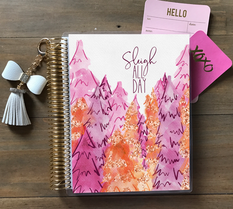 Sleigh All Day Planner Cover - Stylish & Co by Britt Mills