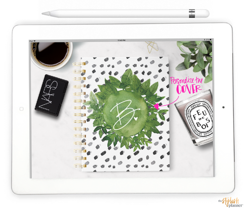 Styled Neutral Horizontal Digital Planner - Undated 12 months