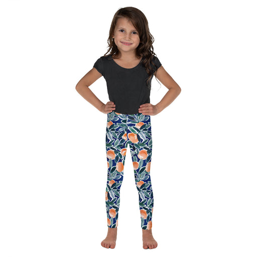 Stylish Planners Home Decor and Stylish Gifts - Summer Citrus - So Soft Kid's Leggings (Matching Mommy + Me Design)