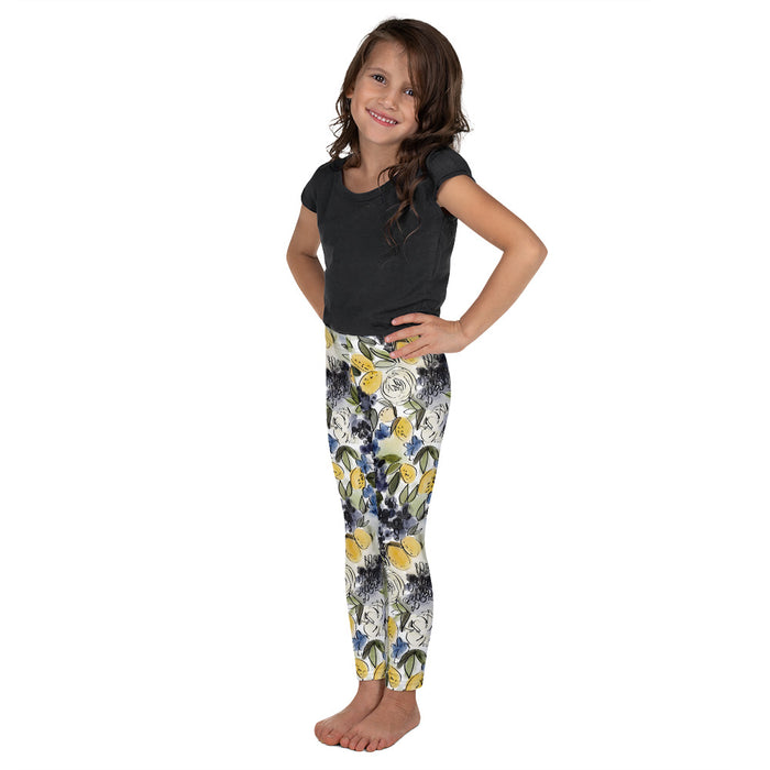 Stylish Planners Home Decor and Stylish Gifts - Citrus Chic - So Soft Kid's Leggings (Matching Mommy + Me Design)