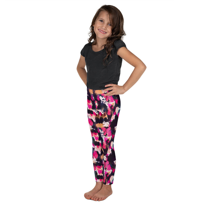 Stylish Planners Home Decor and Stylish Gifts - Petals - So Soft Kid's Leggings (Matching Mommy + Me Design)