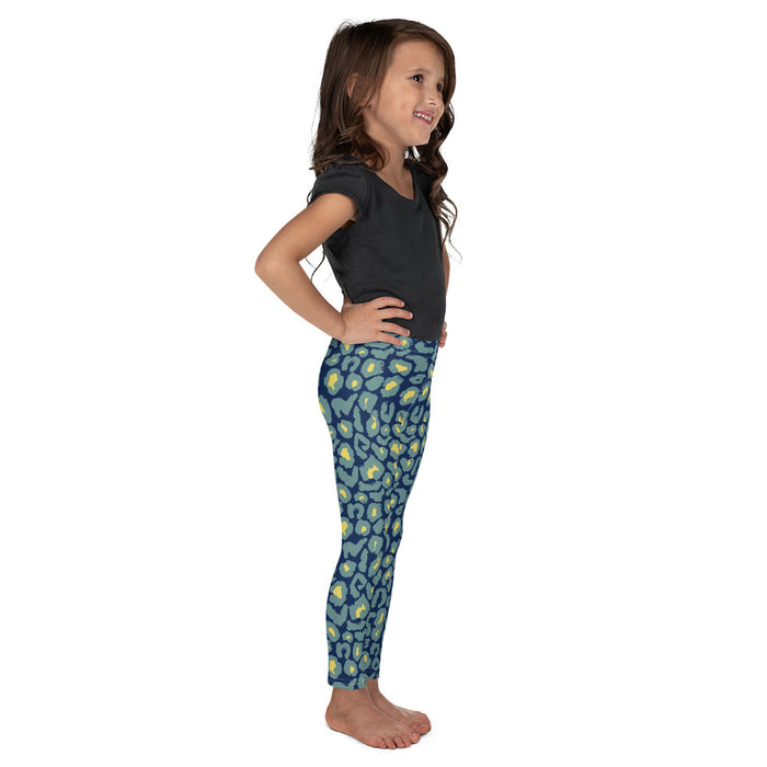 Stylish Planners Home Decor and Stylish Gifts - Neon Spots - So Soft Kid's Leggings (Matching Mommy + Me Design)