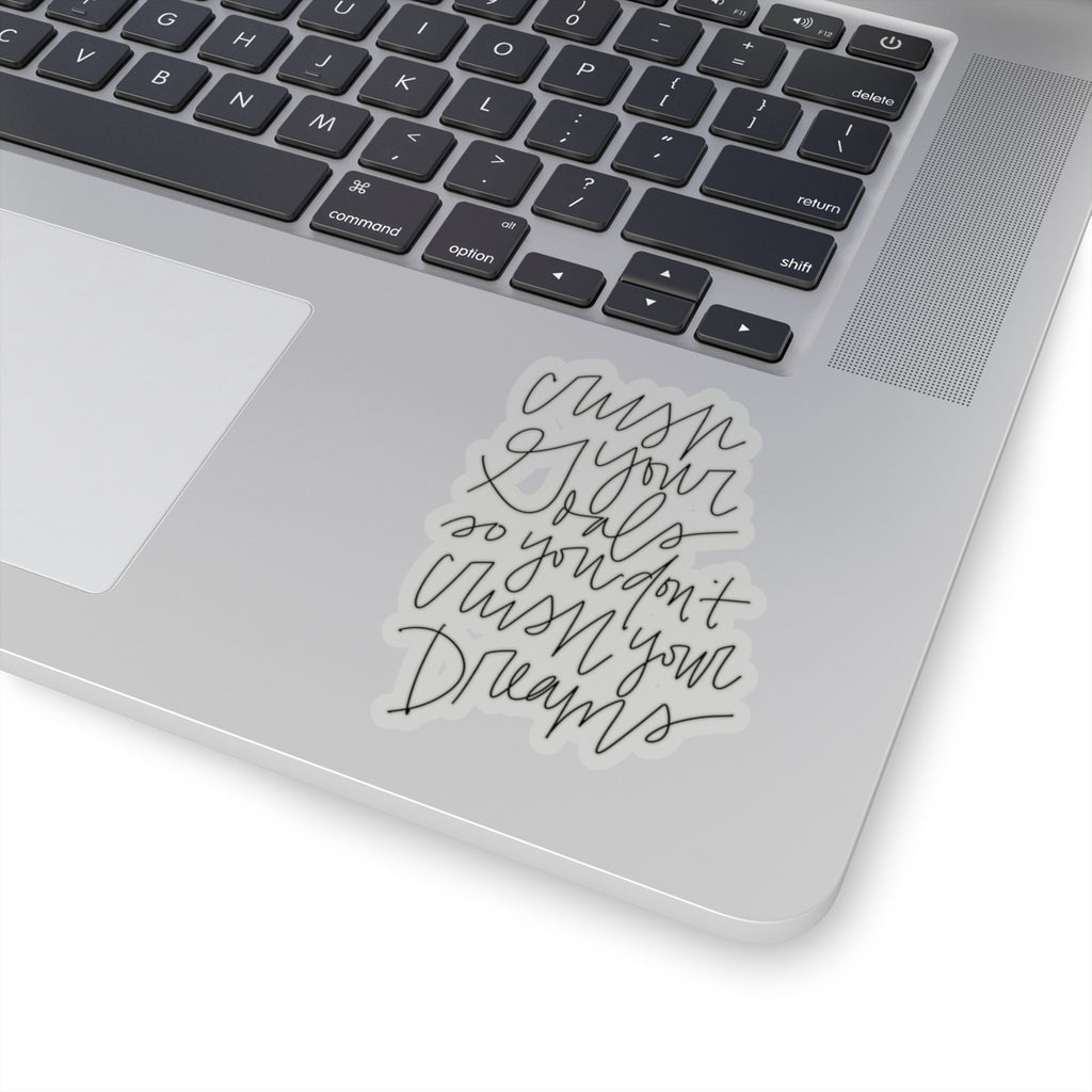 Stylish Planners Home Decor and Stylish Gifts - Crush Your Goal Sticker