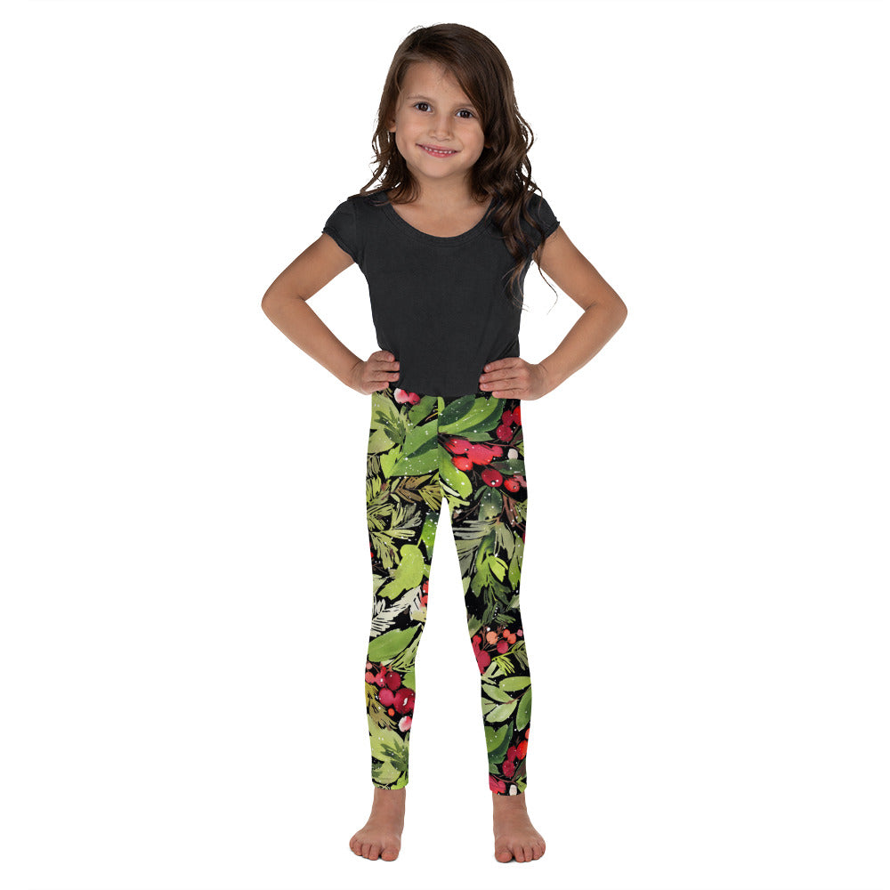 Stylish Planners Home Decor and Stylish Gifts - Mistletoe Dreams - So Soft Kid's Leggings