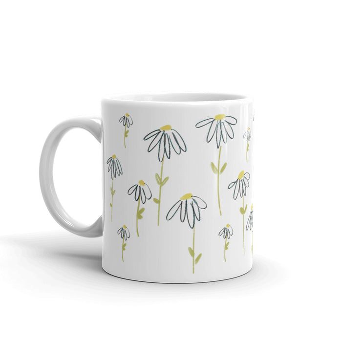 Fresh as an effin' daisy Mug