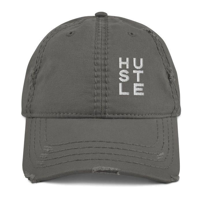Stylish Planners Home Decor and Stylish Gifts - Hustle Distressed Hat