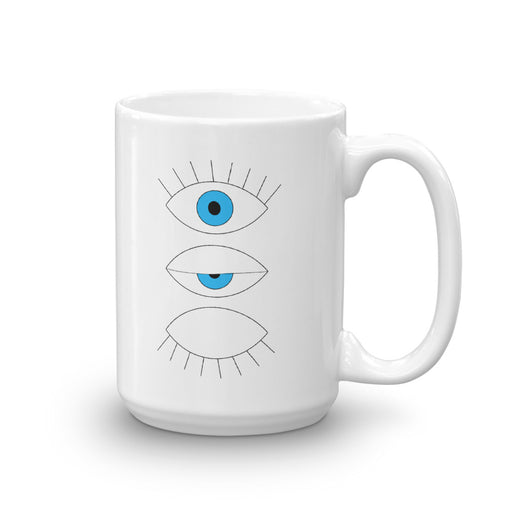 Stylish Planners Home Decor and Stylish Gifts - Evil Eyes Mug