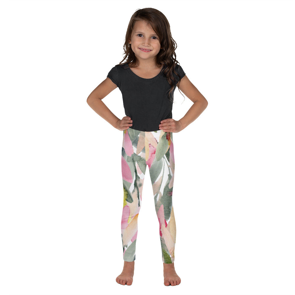 Stylish Planners Home Decor and Stylish Gifts - Olive Branch - So Soft Kid's Leggings