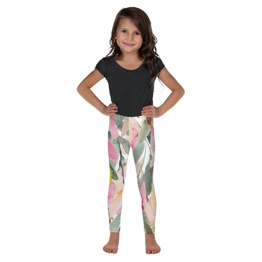 Stylish Planners Home Decor and Stylish Gifts - Olive Branch - So Soft Kid's Leggings (Matching Mommy + Me Design)
