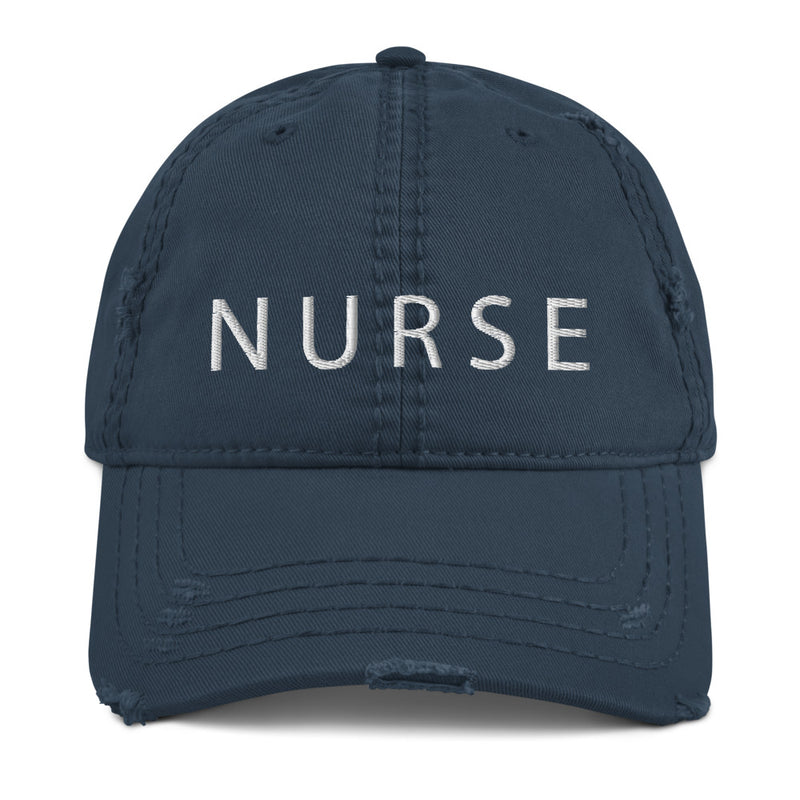 Stylish Planners Home Decor and Stylish Gifts - NURSE Distressed Hat - Nurse Life