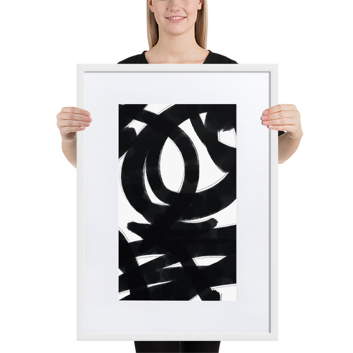 Classic Chaos - Framed Artwork With Mat