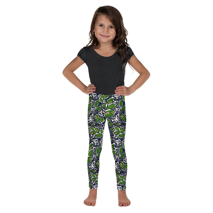 Stylish Planners Home Decor and Stylish Gifts - Midnight Paradise - So Soft Kid's Leggings (Matching Mommy + Me Design)