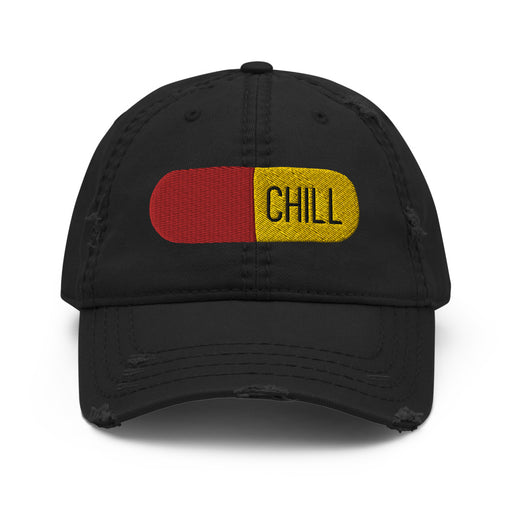 Stylish Planners Home Decor and Stylish Gifts - Chill Pill Distressed Hat