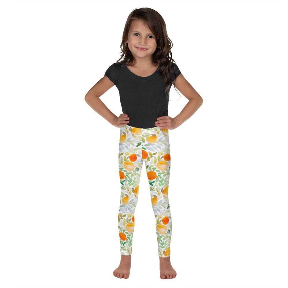 Orange You Happy - So Soft Kid's Leggings