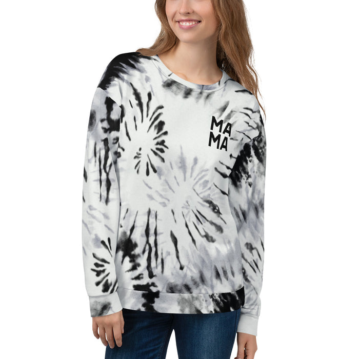 Stylish Planners Home Decor and Stylish Gifts - MAMA Tie Dye Sweatshirt