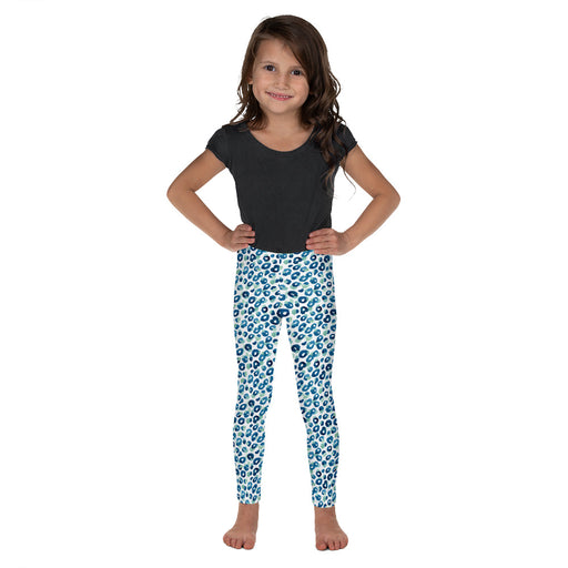 Stylish Planners Home Decor and Stylish Gifts - Aqua Spots - So Soft Kid's Leggings