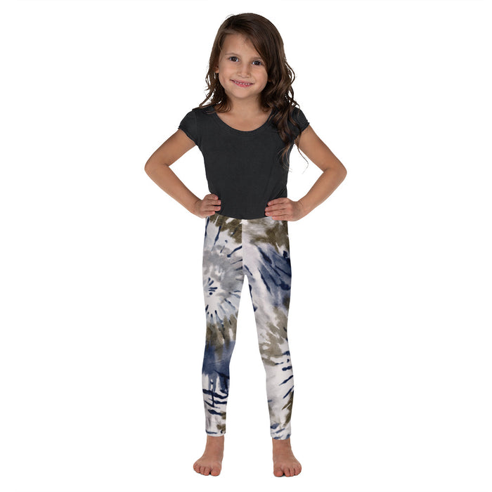 Stylish Planners Home Decor and Stylish Gifts - Ocean Tie Dye - So Soft Kid's Leggings (Matching Mommy + Me Design)