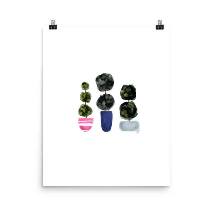 Stylish Planners Home Decor and Stylish Gifts - Plant Lady - Stylish & Co Print (Frame Not Included)