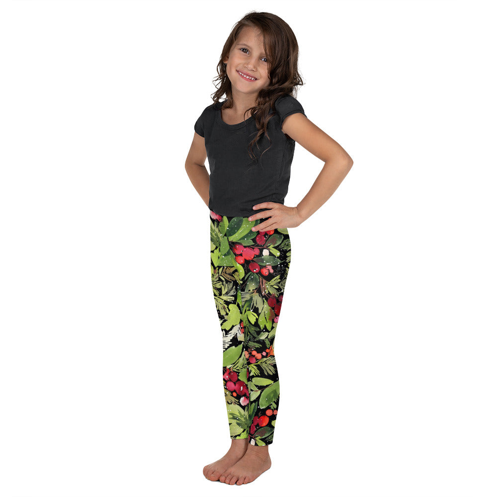 Mistletoe Dreams - So Soft Kid's Leggings