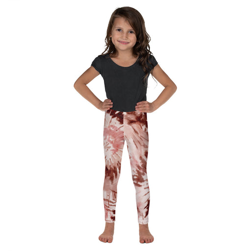 Stylish Planners Home Decor and Stylish Gifts - Rust Tie Dye - So Soft Kid's Leggings (Matching Mommy + Me Design)