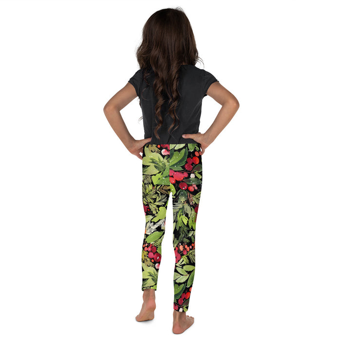 Stylish Planners Home Decor and Stylish Gifts - Mistletoe Dreams - So Soft Kid's Leggings (Matching Mommy + Me Design)