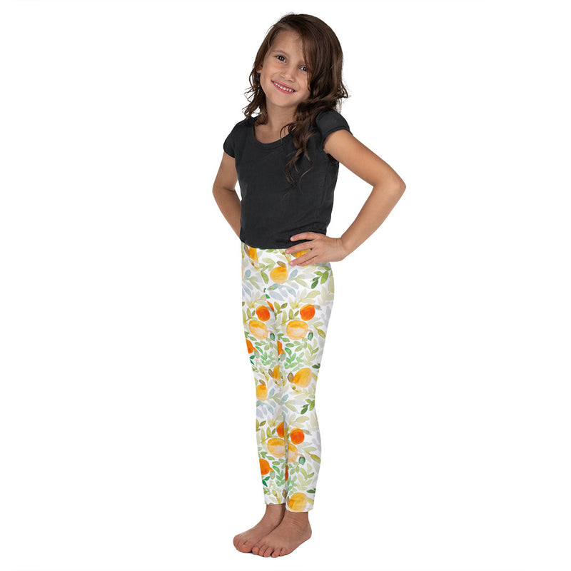 Stylish Planners Home Decor and Stylish Gifts - Orange You Happy - So Soft Kid's Leggings