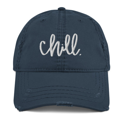 Stylish Planners Home Decor and Stylish Gifts - Chill Distressed Dad Hat